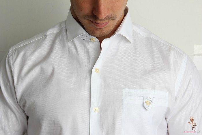 Plain White Shirt Essential for Men's Wardrobe