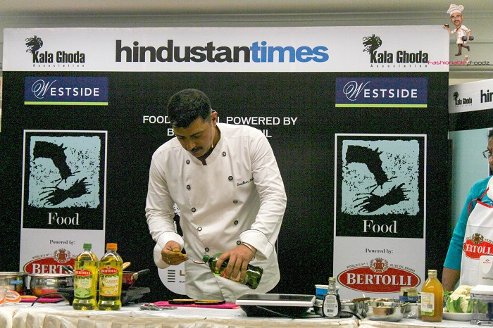 Chef Gautam Mehrishi With Bertolli Oil