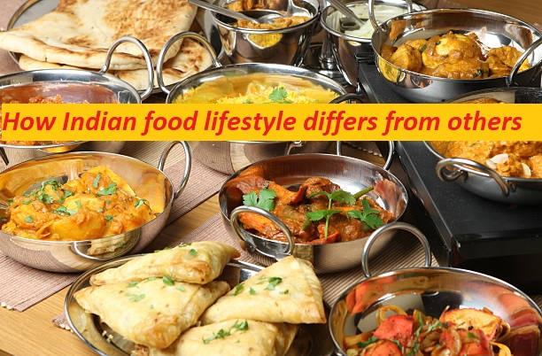 Indian food lifestyle