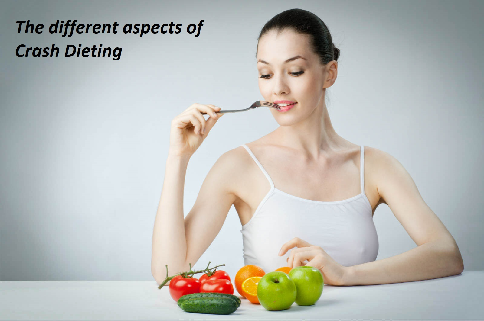 The different aspects of Crash Dieting