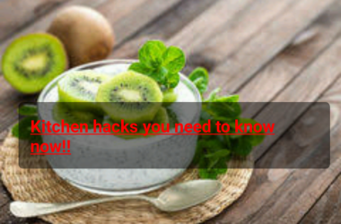 Kitchen hacks you need to know now!!