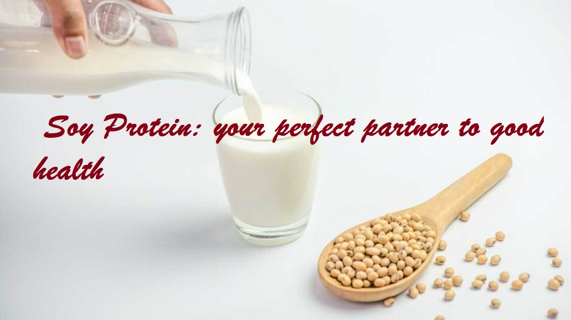 SOY PROTEIN for weight loss & good heart health