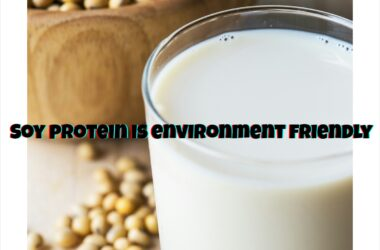 Soy protein is environment friendly
