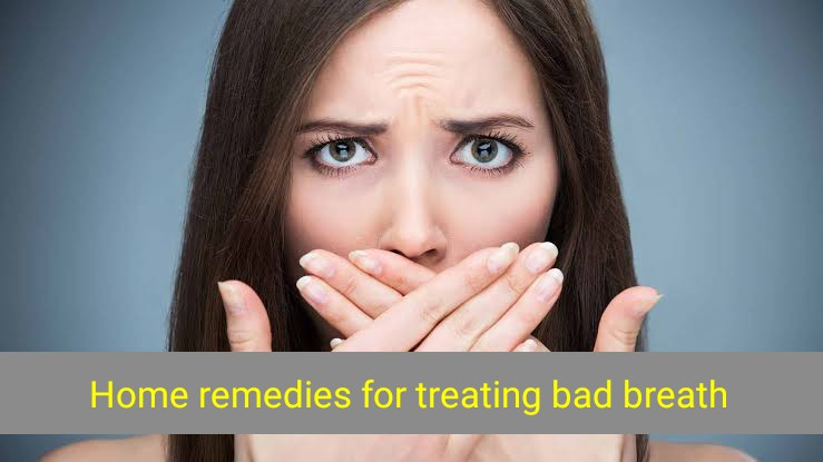Home remedies for treating bad breath