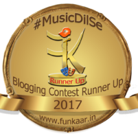 Blogging contest Runner up