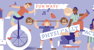 Keep your child physically active