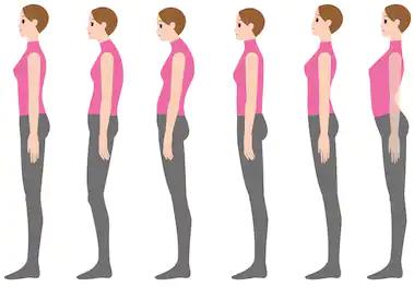 perfect body posture