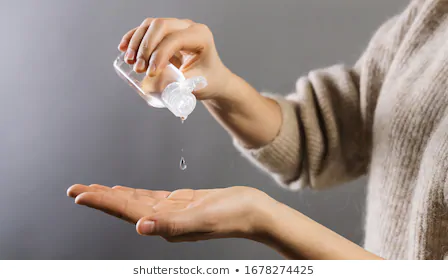 Sanitizer use